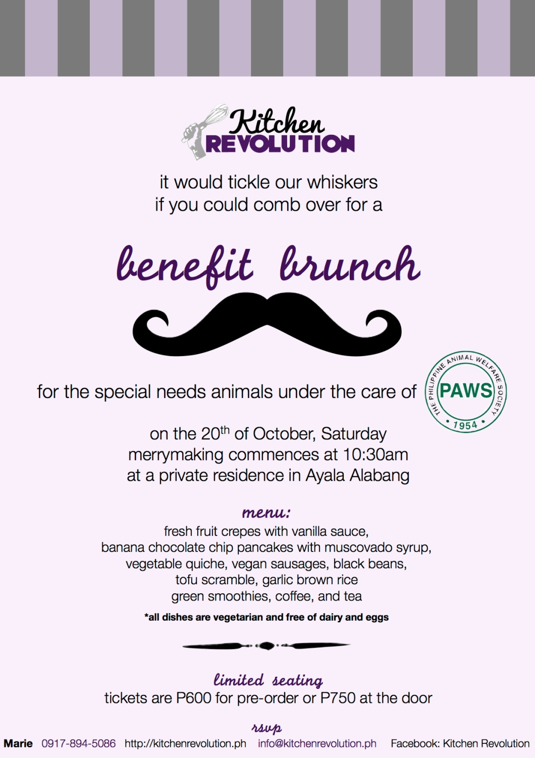 Cordially invited definition invitationjdi you are cordially invited to a paws benefit brunch kitchen revolution stopboris Images