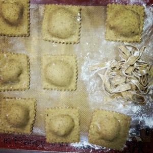 Homemade fresh pasta dough is on the horizon, folks!