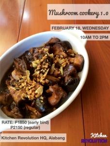 mushroom cookery 012615