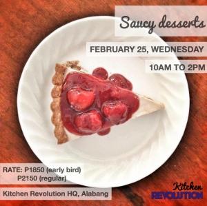 saucy desserts 012615