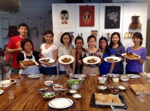 I taught this class at Craft MNL last month - full house + full stomachs!
