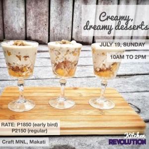 creamy desserts