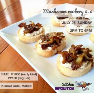 mushroom cookery kismet