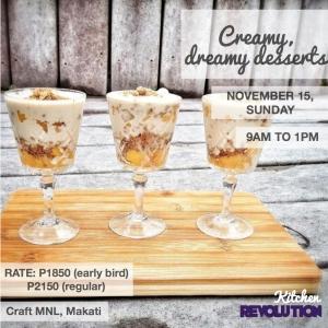 creamy desserts 102615
