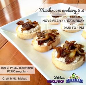 mushroom cookery 102015