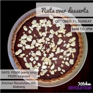 nuts over desserts alabang 102615
